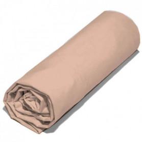 COTE DECO 2 draps housse 100% percale de coton 80x200 cm