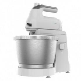 Mixeur/mélangeur de pâte Cecotec PowerTwist Steel 500W 3,5 L Blanc