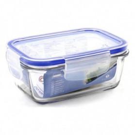 Boîte à lunch hermétique Borgonovo Rectangulaire Transparent