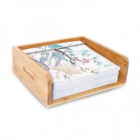 Porte-serviettes Quttin Bambou