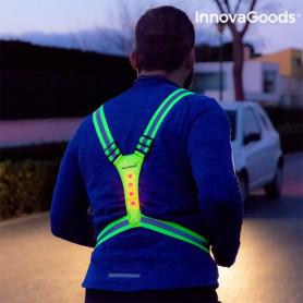 Harnais Réfléchissant avec LED pour Sportifs InnovaGoods