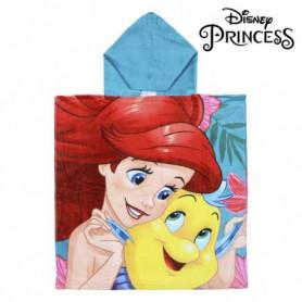 Serviette poncho avec capuche Little Mermaid Princesses Disney 74218