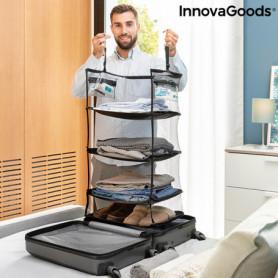 Etagère de rangement pliable portative pour bagages Sleekbag