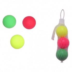 Balles pour Raquettes de plage (3 uds)