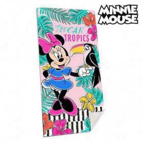 Serviette de plage Minnie Mouse (70 x 140 cm)