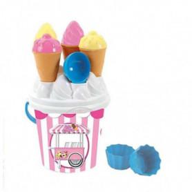 Seau de plage Ice Cream Plastique