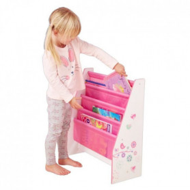 Bibliotheque Enfant Rose Fille HelloHome - Worlds