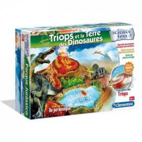 CLEMENTONI Science & Jeu - Triops & la Terre des Dinosaures