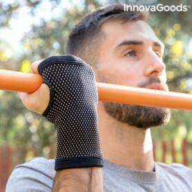 Bracelet de soutien du poignet en fil de cuivre et en charbon de bambou