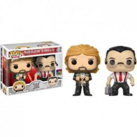 "2 Figurines Funko Pop! WWE: ""Million Dollar Man"""
