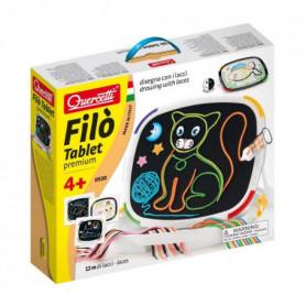 QUERCETTI Jeu de dessin lacets Filo Tablette Premium