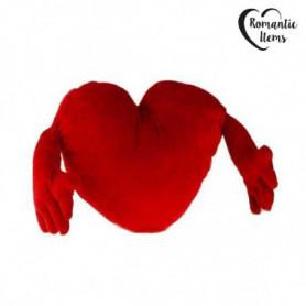 Coeur en Peluche avec Bras (30 cm)
