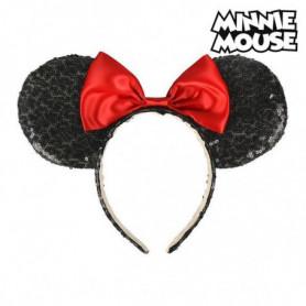 Serre-tête Minnie Mouse 71127 Noir Rouge