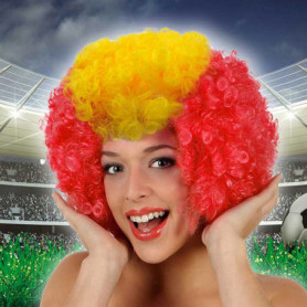 Perruque avec Cheveux Bouclés Afro Espagne 115533