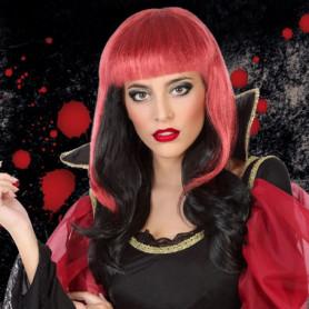 Perruque pour Halloween Rouge Noir 117027