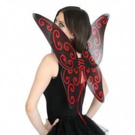 Ailes de Papillon 112742 Noir Rouge