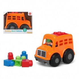 Jeu de construction avec blocs 114591 Orange (6 Pcs)