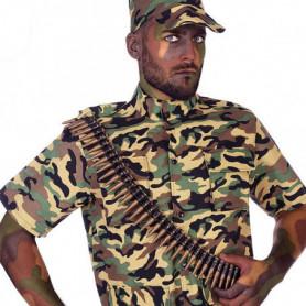 Accessoires de costumes Camouflage Doré 116182
