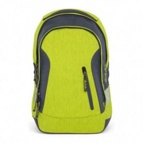Cartable Eco Ergobag SAT-SLE-001-206 Gris Vert (45 X 15 x 27 cm)