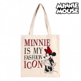 Sac Multi-usages Minnie Mouse 702892 Blanc Coton