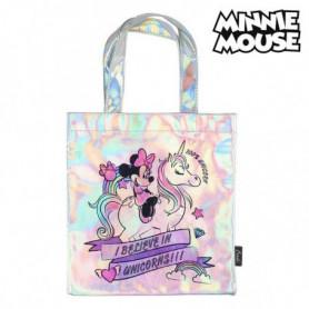 Sac Minnie Mouse 72874 Rose Métallisé