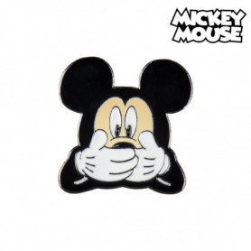 Broche Mickey Mouse Métal Noir