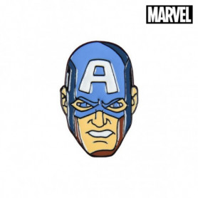 Broche Captain America The Avengers Métal Bleu