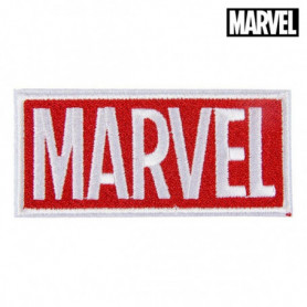 Patch Marvel Blanc Rouge Polyester