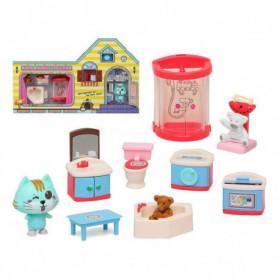 Accessoires pour maisons de poupées Build Your Bathroom