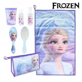 Trousse d'écolier Frozen (6 pcs) Bleu Lila
