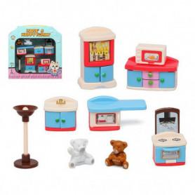 Accessoires pour maisons de poupées Happy Family Kitchen