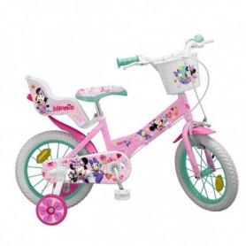 """Vélo pour enfants Minnie Mouse 12"""" Rose"""
