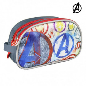 Trousse d'écolier The Avengers Gris