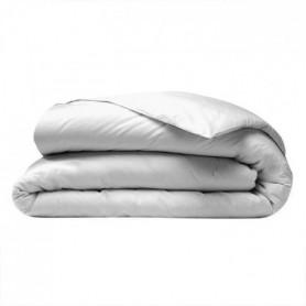 COTE DECO Housse de couette 200x200 cm - Blanc