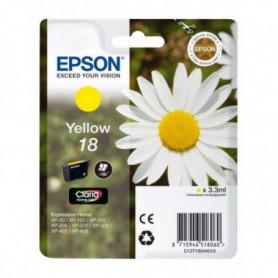 Cartouche d'encre originale Epson C13T18044010 Jaune