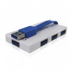 Hub USB 4 Ports approx! APPHT5W USB 3.0 Blanc