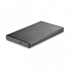"""Boîtier Externe TooQ TQE-2527B HDD 2.5"""" SATA III USB 3.0 Noir"""