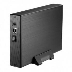 """Boîtier Externe TooQ TQE-3527B HDD 3.5"""" SATA III USB 3.0 Noir"""