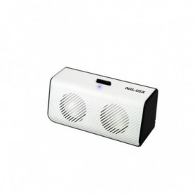 Haut-parleurs de PC Nilox 10NXPSJ3C3002 USB Blanc