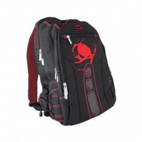 """Sac à dos Gaming KEEP OUT BK7R 15,6"""" Noir Rouge"""