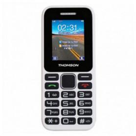 Téléphone portable pour personnes âgées Thomson TLINK11WHT Blanc