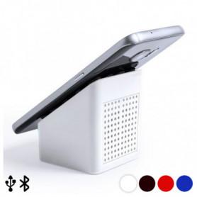 Haut-Parleur Bluethooth avec Support pour Téléphone Portable 3W