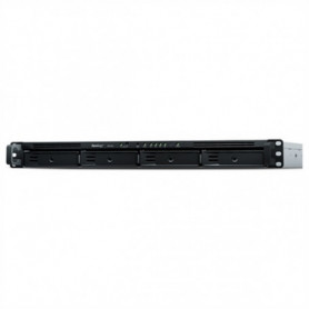 Disque Dur Externe Nas Synology RX418 HDD SSD SATA 48 TB Gris