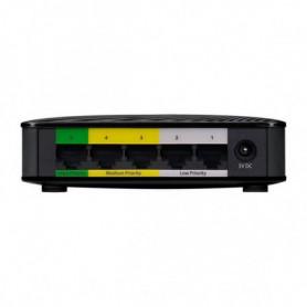 Commutateur Réseau de Bureau ZyXEL GS-105SV2 LAN Noir