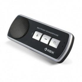 Mains Libres Bluetooth KSIX 500 mAh Noir