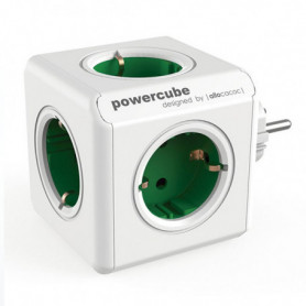 Bloc Cube Prises Allocacoc 100-250 V 13-16A Blanc