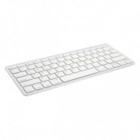 Clavier Bluetooth Ewent EW3161 Blanc (Espagnol)
