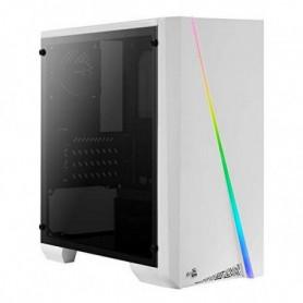 Boîtier mini-tour Micro ATX / ITX Aerocool CYLONMINIW RGB LED Blanc