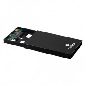 Boîtier pour disque dur CoolBox COO-SCA-2512 Noir