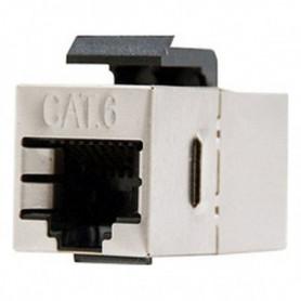 Adaptateur RJ45 NANOCABLE 10.21.0503 Cat.6 STP Beige